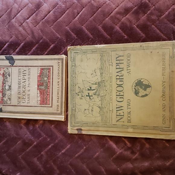 1920 school books
